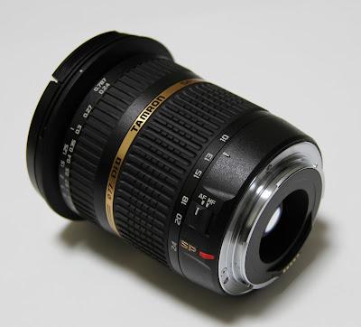 Tamron SP AF 10-24mm f/3.5-4.5 DI II for Nikon lens
