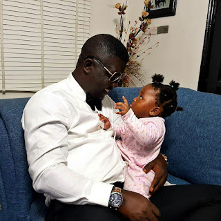 BZGZnCahN5b - ENTERTAINMENT: Seyi Law shares lovely photos with daughter