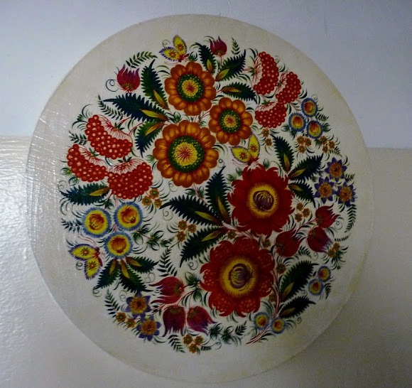 Петриковка. Декоративно-орнаментальная роспись