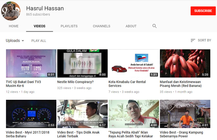 Syarat dan terma jana income USD menerusi YouTube