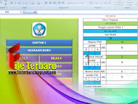 Download Aplikasi Pembuat Kelengkapan Administrasi Sekolah Tahun 2017/2018 Format Excel