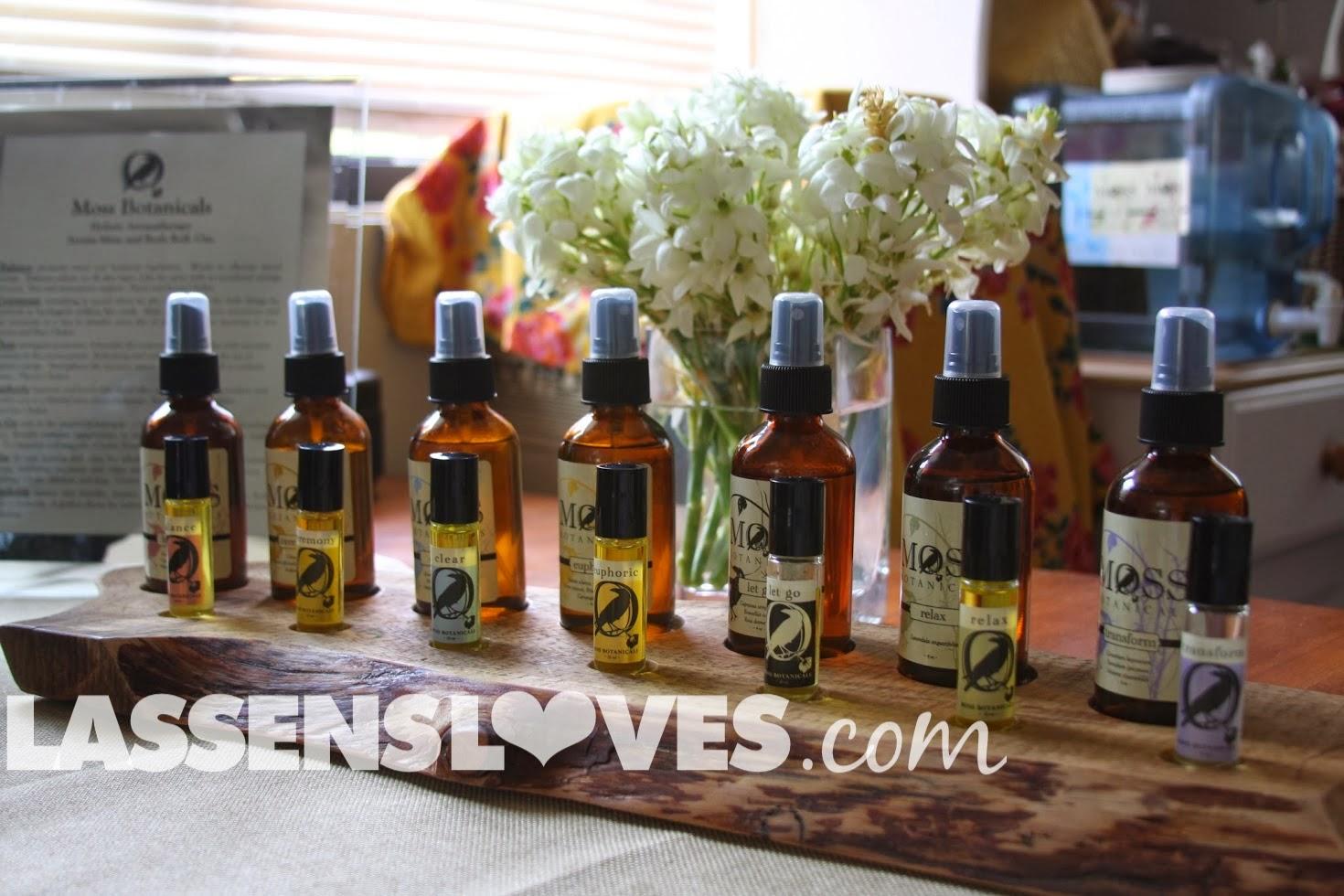 lassensloves.com, Lassen's, Lassens, Moss+Botanicals, Aromatherapy