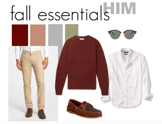Go-To Fall Style: His