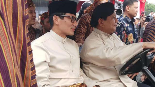 Deklarasi Kampanye Damai, Prabowo Disebut Presiden
