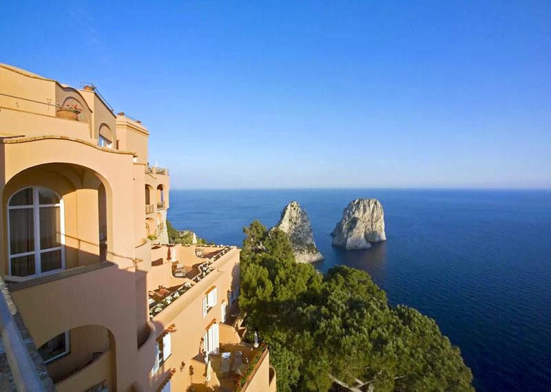 Luxury Hotels In Capri Island Italy