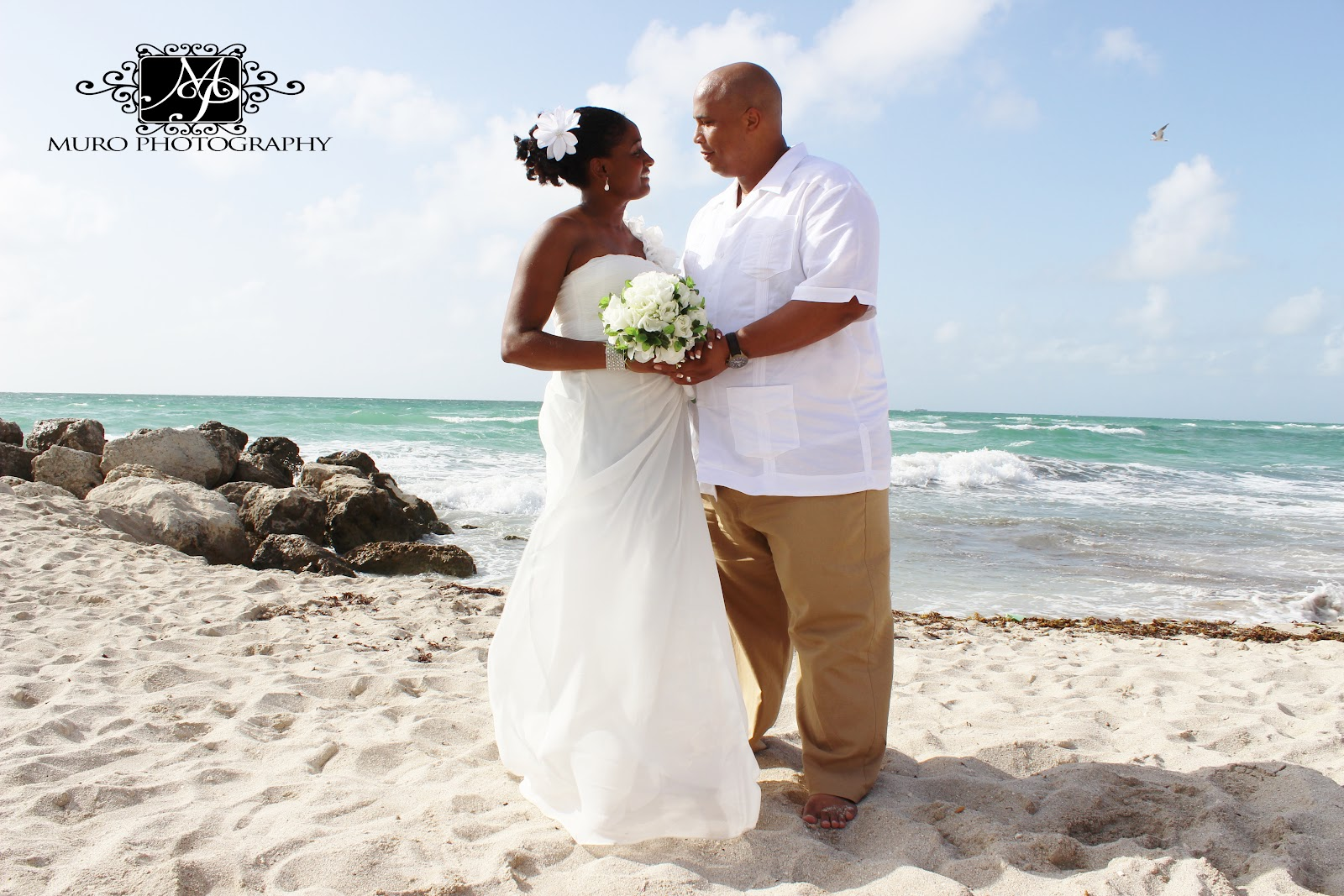 Beach Vow Renewal Ceremony