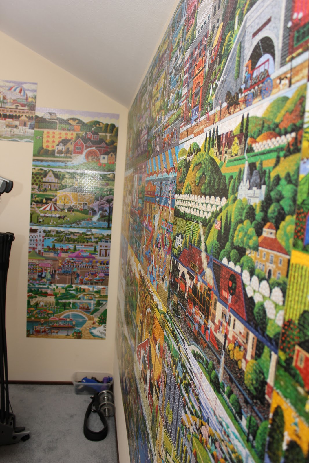 Greg S Blog 33 Puzzles On The Man Cave Walls