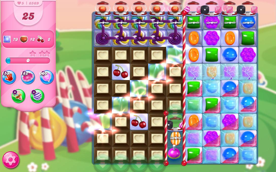 Candy Crush Saga level 6569
