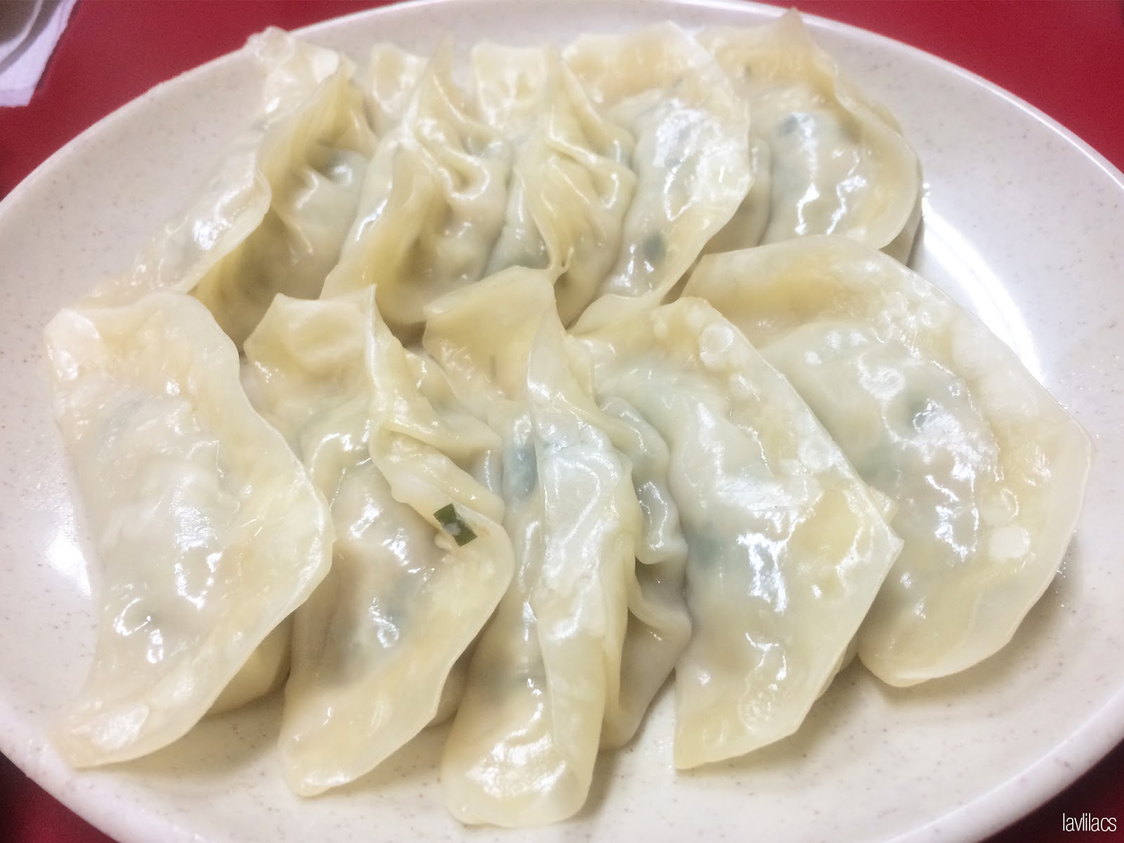 Seoul, Korea - Summer Study Abroad 2014 - Yeonhuidong 연희동- Five Spice Mandoo 五香만두 Steamed dumplings jjinmandoo 찐만두