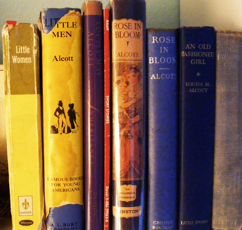 Vintage books by American authoress, Louisa May Alcott
