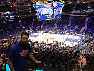 Partido NBA en el Madison Square Garden