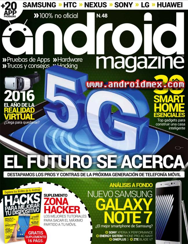 Android Magazine - el futuro se acerca