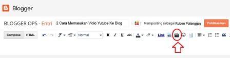 Cara memasukan vidio yutube ke blog