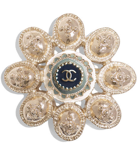 CHANEL CRUISE 2017/2018 BROOCHES