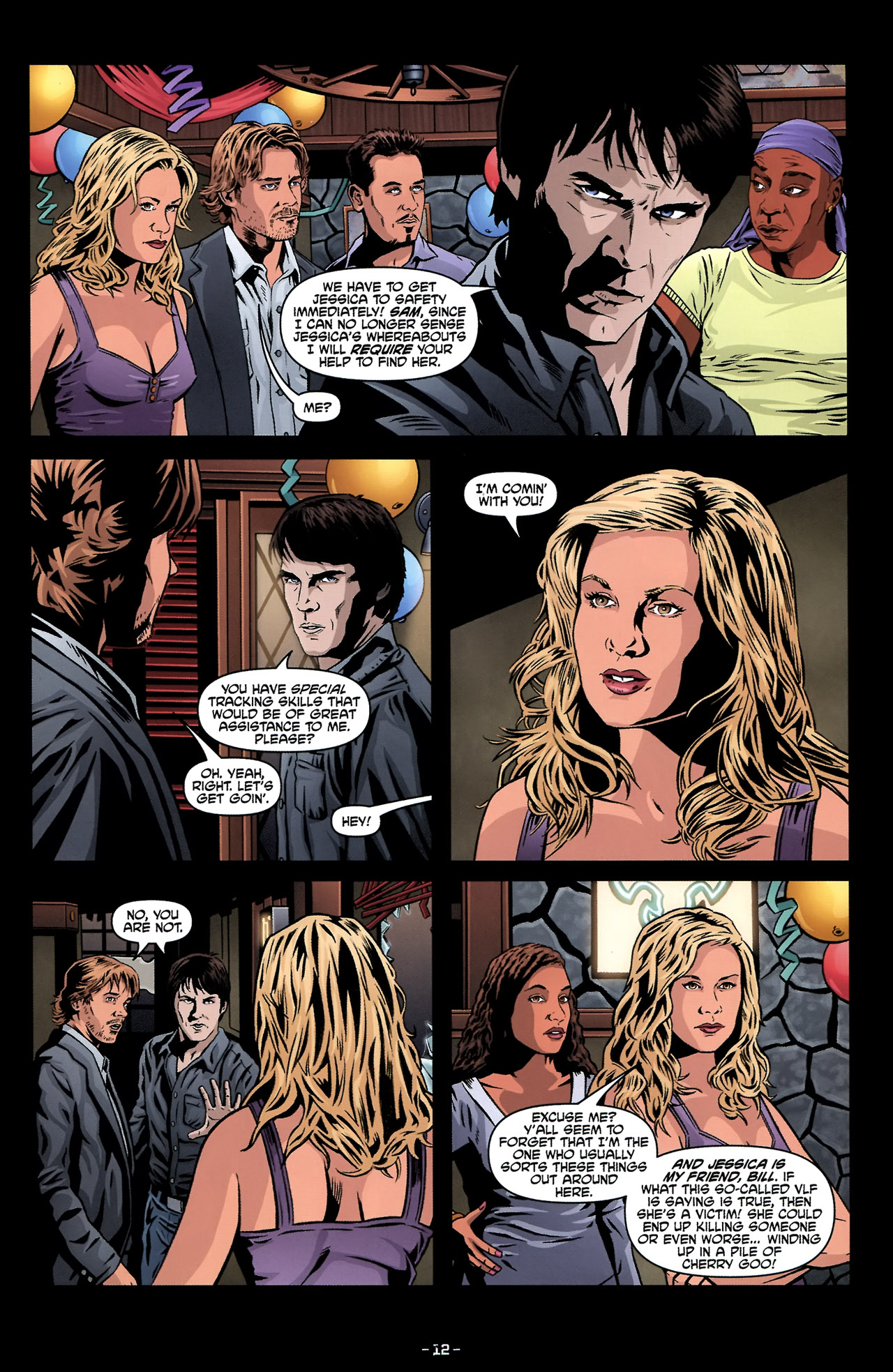 Read online True Blood: Tainted Love comic -  Issue #2 - 16