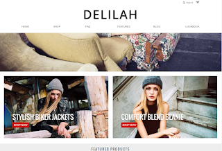 Delilah Theme for Storenvy Stores by Theme Champ is modern Fashion in its essence