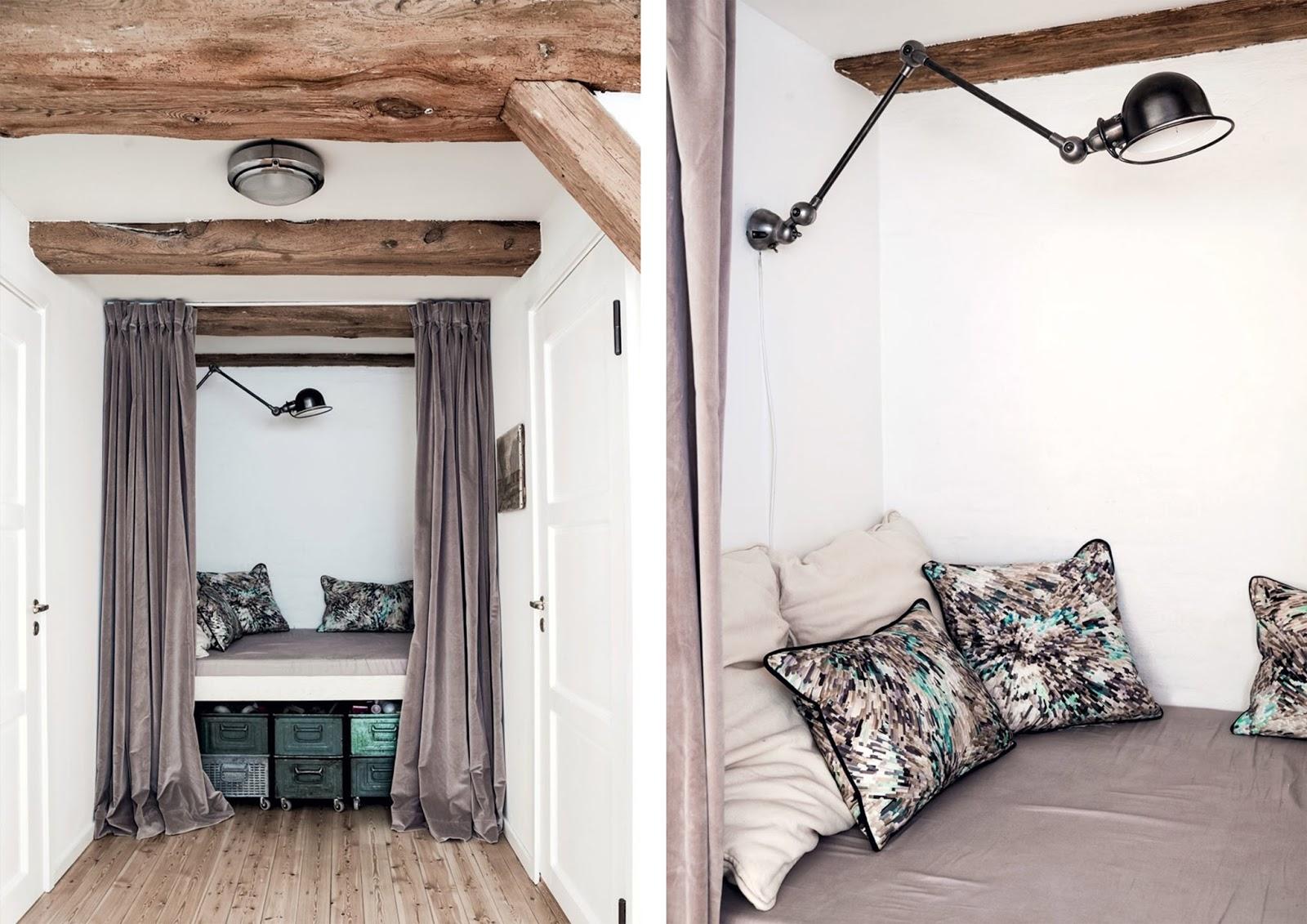 Camere da letto moderne con travi a vista jak urządzić salon na