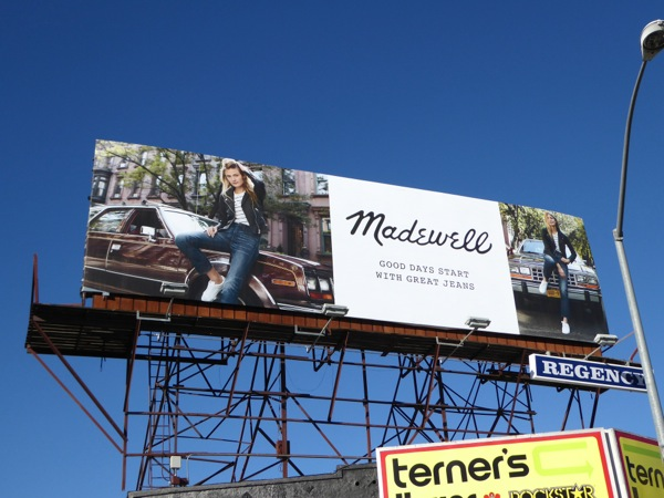 Madewell Jeans Spring 2016 billboard