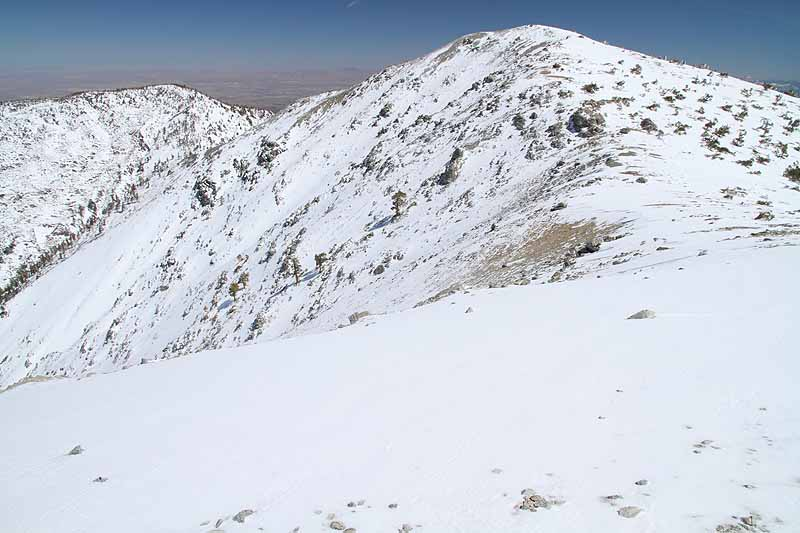 Mountains Mt Baldy Upland