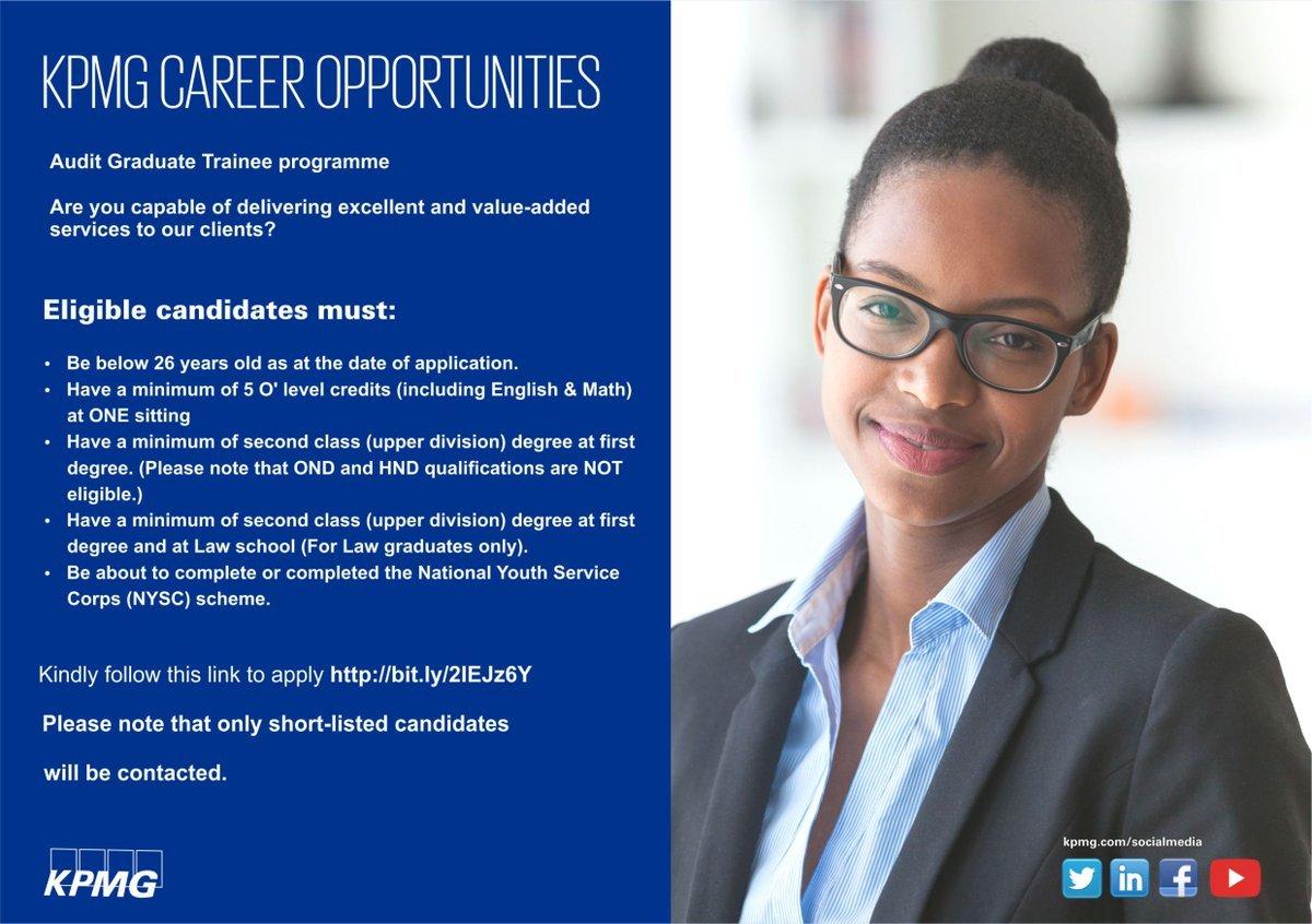 KPMG Audit Graduate Trainee Programme