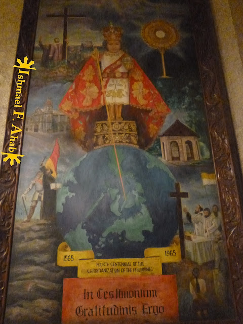 Painting of the Santo Niño in the Minor Basilica of the Santo Niño in Cebu City
