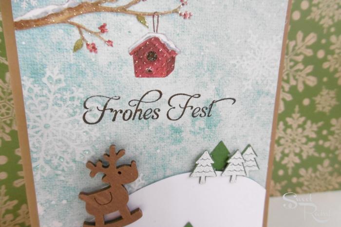 Weihnachtskarten Aldi Süd.Karten Die Erste Weihnachtskarte Dieses Jahr Mit Elch Sweet