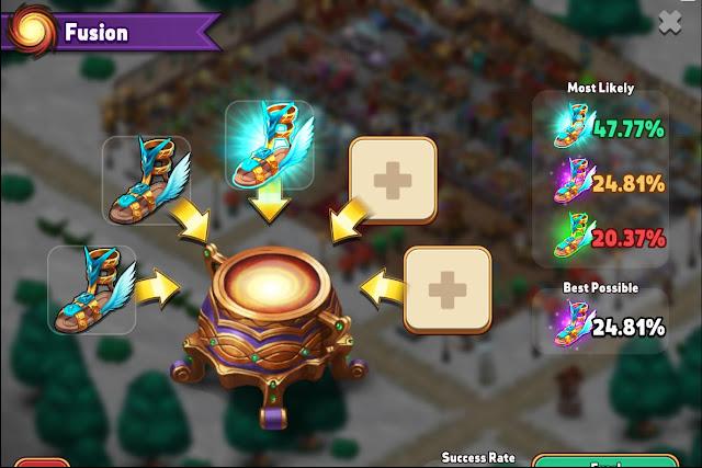 Shop Heroes Fusion Cauldron Guide