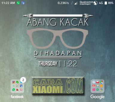 Download Kumpulan Template ZW Zooper Widget Kata-Kata Futuristic Minimalis Terbaru