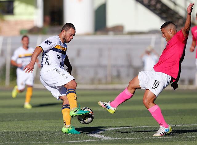 Pantoja empata con Metropolitano FC de Caracas en 2do amistoso en Venezuela