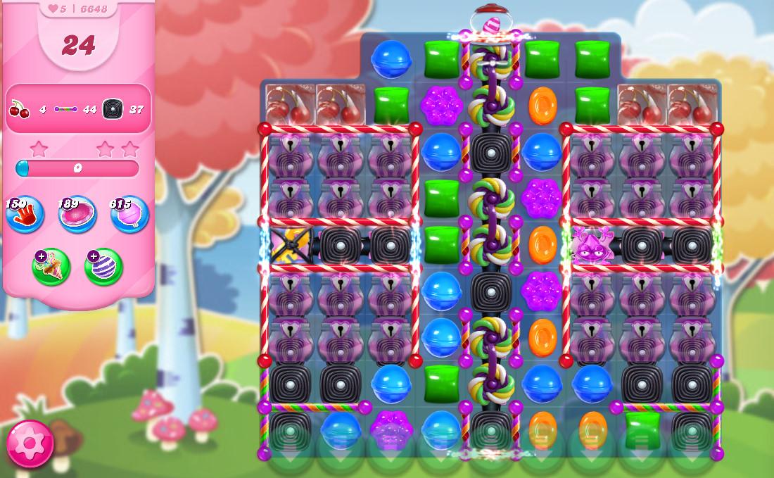Candy Crush Saga level 6648