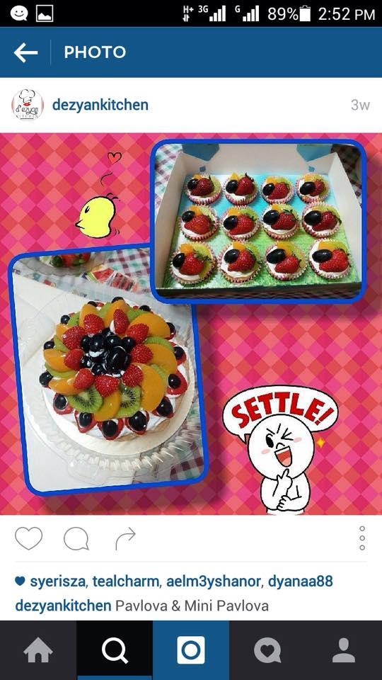 d'ezyankitchen, custom designed cake, homemade kek, cookies, cupcakes, sekitar kuala lumpur, selangor dan seremban, COD, self pick up, testimoni