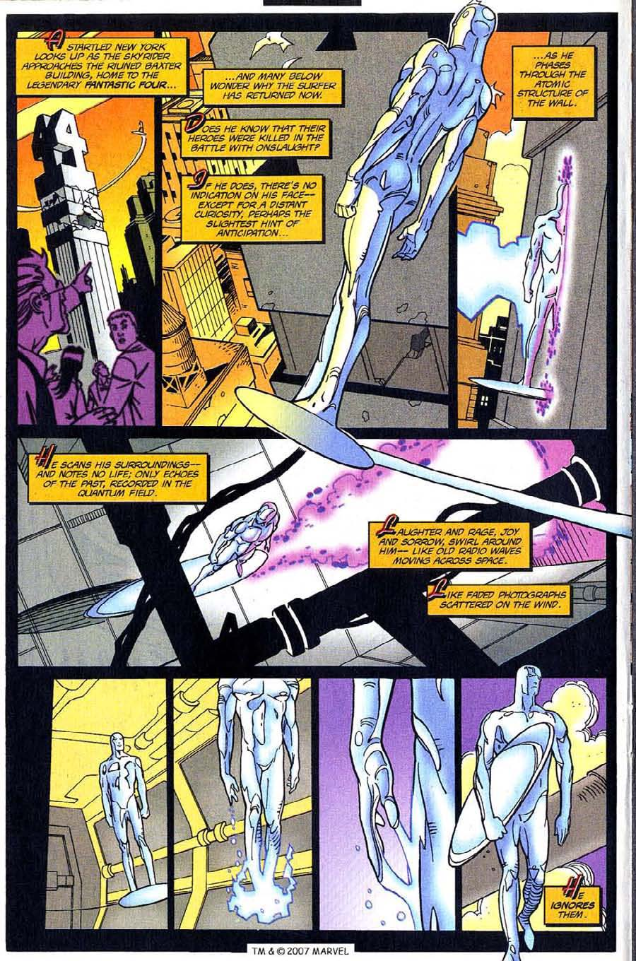 Read online Silver Surfer (1987) comic -  Issue #123 - 14