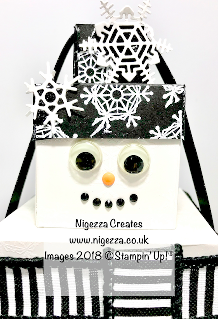 Look Back on last year: Do you want to build a snowman? Stampin Up Style! Nigezza Creates