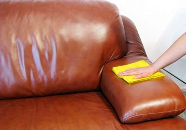 Lifehack How To Clean Leather Sofa And Furniture At Home