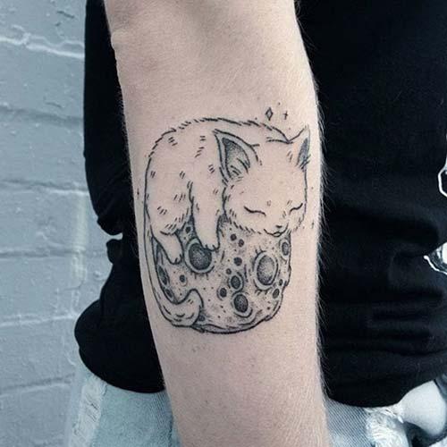 kedi dövmeleri cat tattoos 43