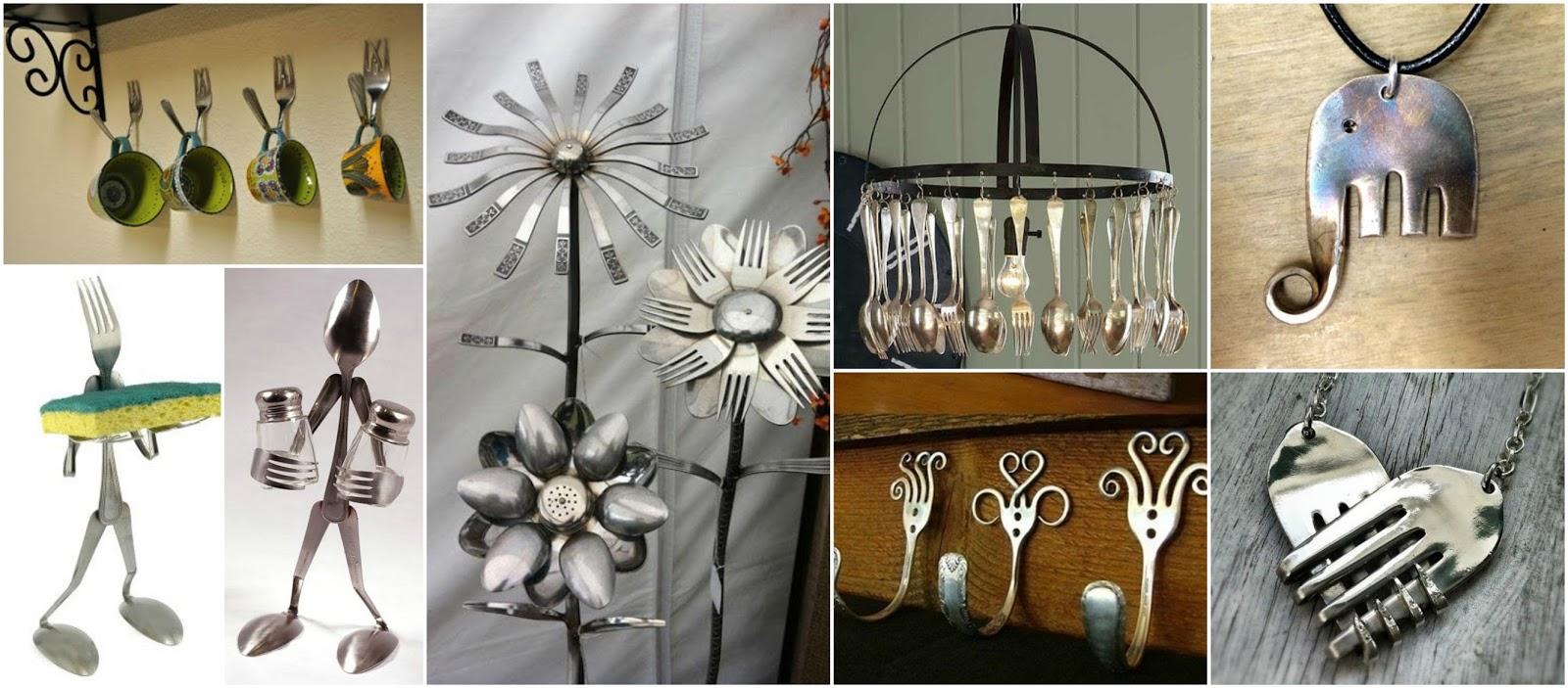 16 Espectaculares Adornos Decorativos Con Tenedores Y