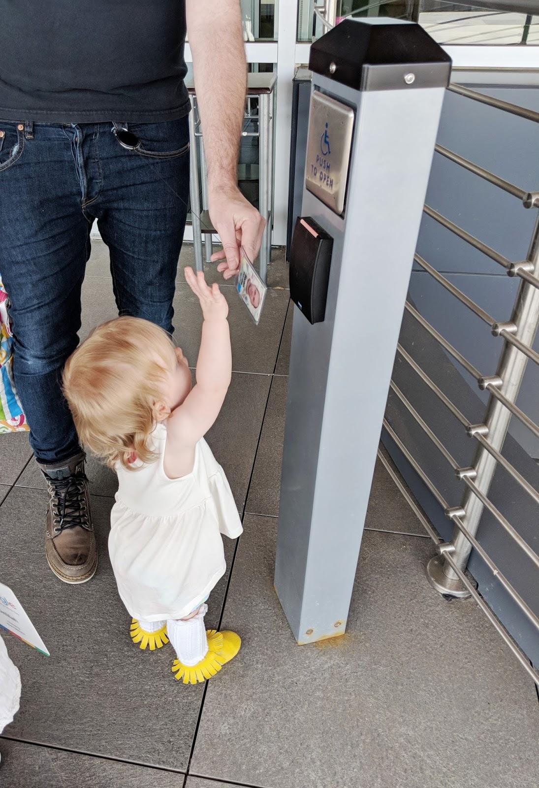 baby Googler take your kid child to work day work badge