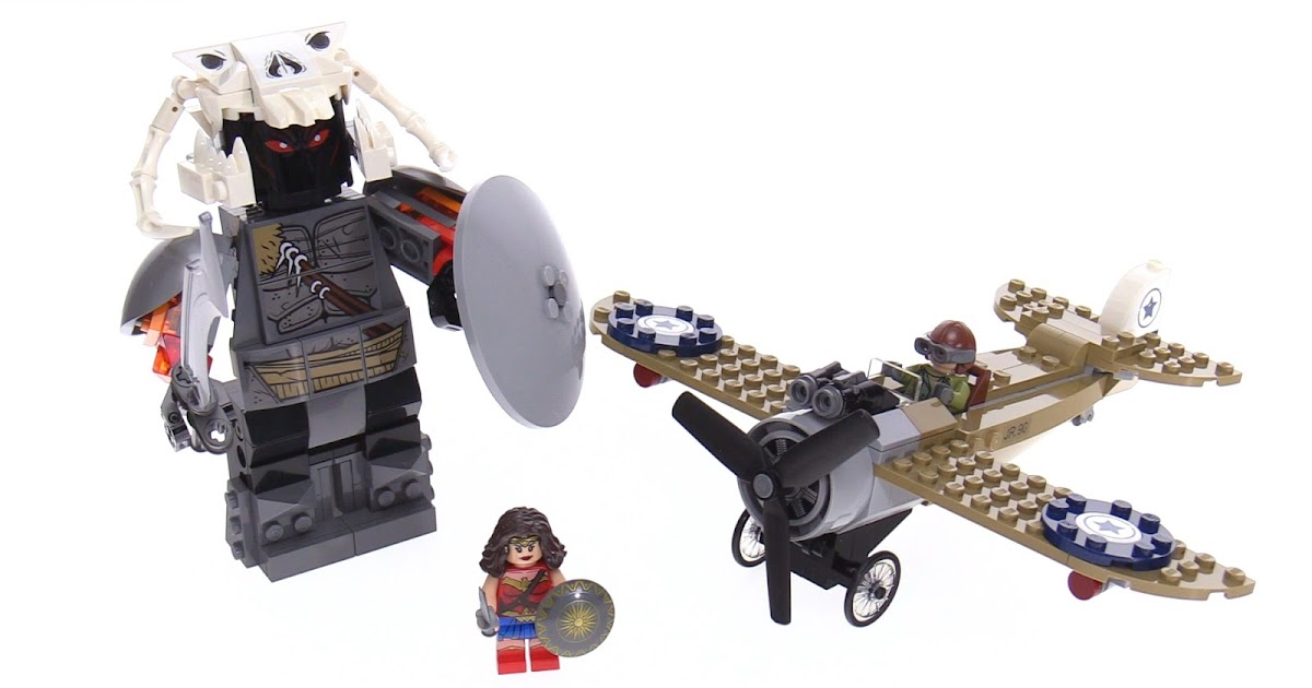 LEGO Wonder Woman Warrior Battle review! 76075