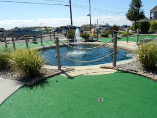 Mini Golf at Sunset Beach in Cape May New Jersey