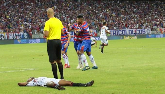 Vitória é goleado pelo Fortaleza e se despede da Copa do Nordeste