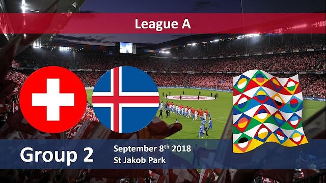 Prediksi UEFA Nations League Iceland vs Switzerland 16 Oktober 2018 Pukul 01.45 WIB
