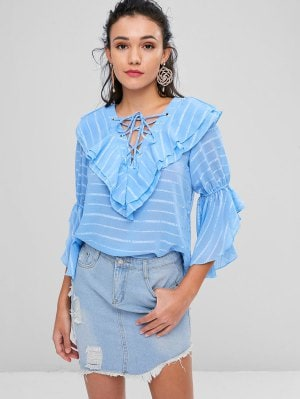https://www.zaful.com/lace-up-tiered-striped-blouse-p_547991.html