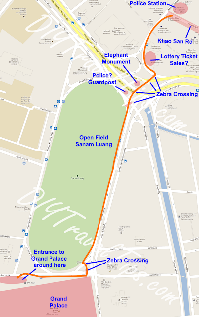 map-showing-path-from-khao-san-road-to-grand-palace