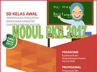 Download Modul PKB SD Kelas Awal dan KelasTinggi 2017