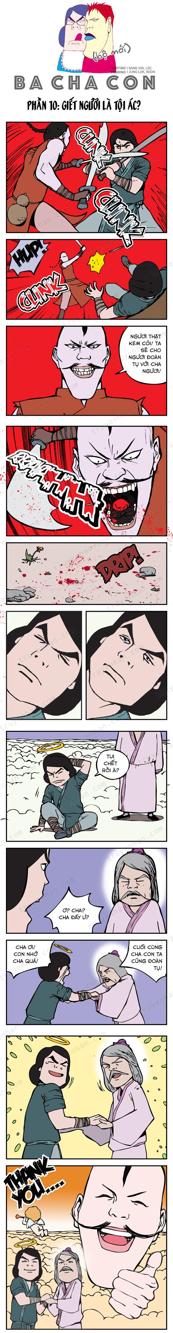 Ba cha con (bộ mới) phần 10: Giết người là tội ác