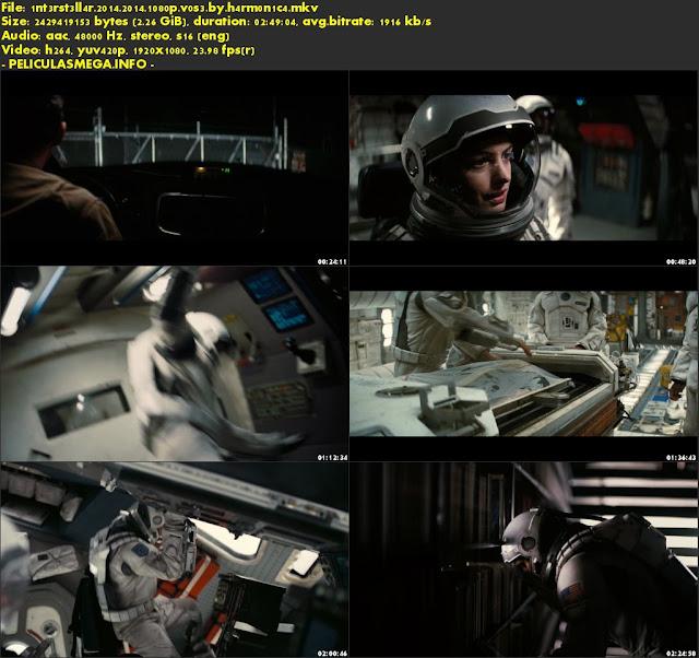 Descargar Interstellar Subtitulado por MEGA.