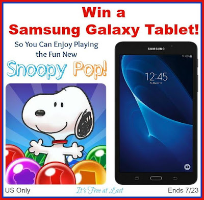 Enter the Samsung Galaxy Tablet Giveaway. Ends 7/23