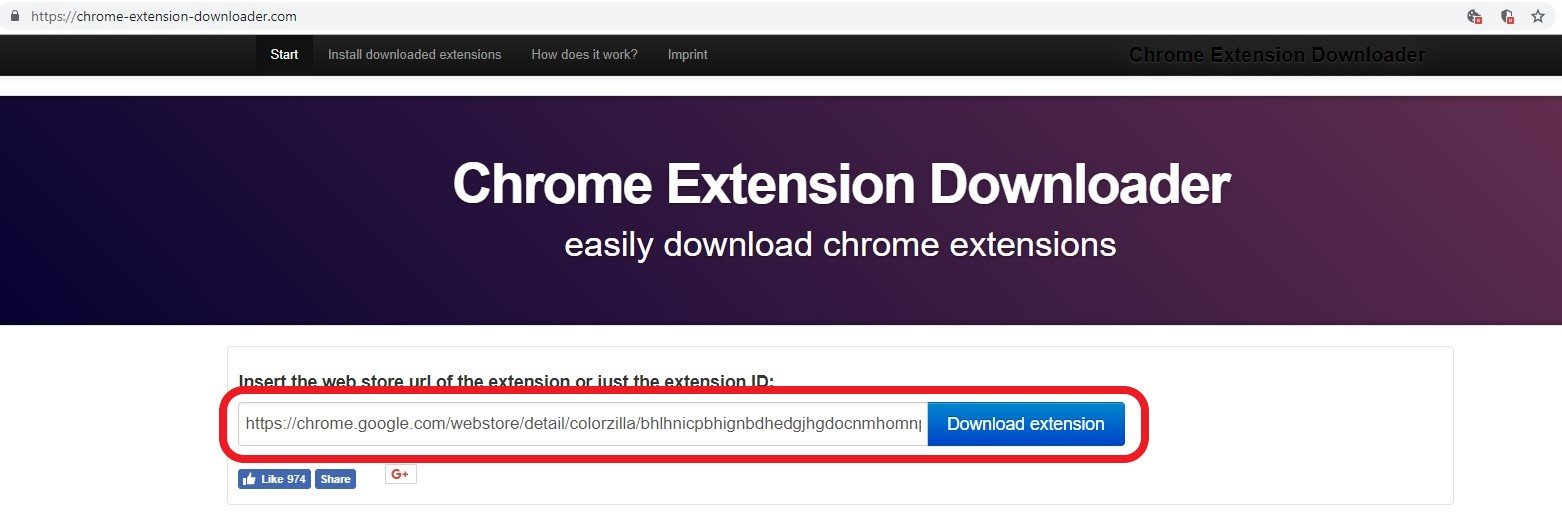 Download Google Chrome Extension Crx Download and Save a