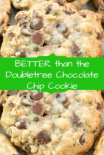 BETTER than the Doubletree Chocolate Chip Cookie   #DoubletreeReceipes  #ChipCookieReceipes  #ChocolateChipReceipes