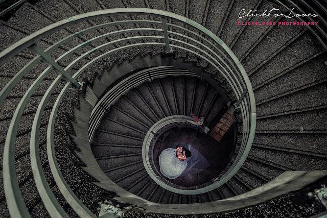 famous spiral stairs hong kong